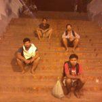 at srivaari metlu with buddies